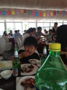 とにかく食べる食べる。 たしかにおいしかったからねー。しょうがない。