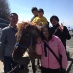 董ちゃんと家族で富士山行きました。